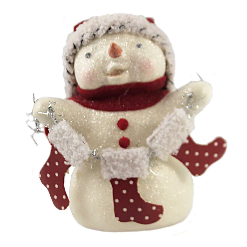 Stocking Snowman Ma9263 Christmas Figurines - SBKGIFTS.COM - SBK Gifts Christmas Shop Cincinnati - Story Book Kids