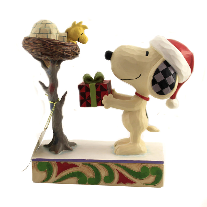 A Snowy Gift 6006938 Jim Shore Figurines - SBKGIFTS.COM - SBK Gifts Christmas Shop Cincinnati - Story Book Kids