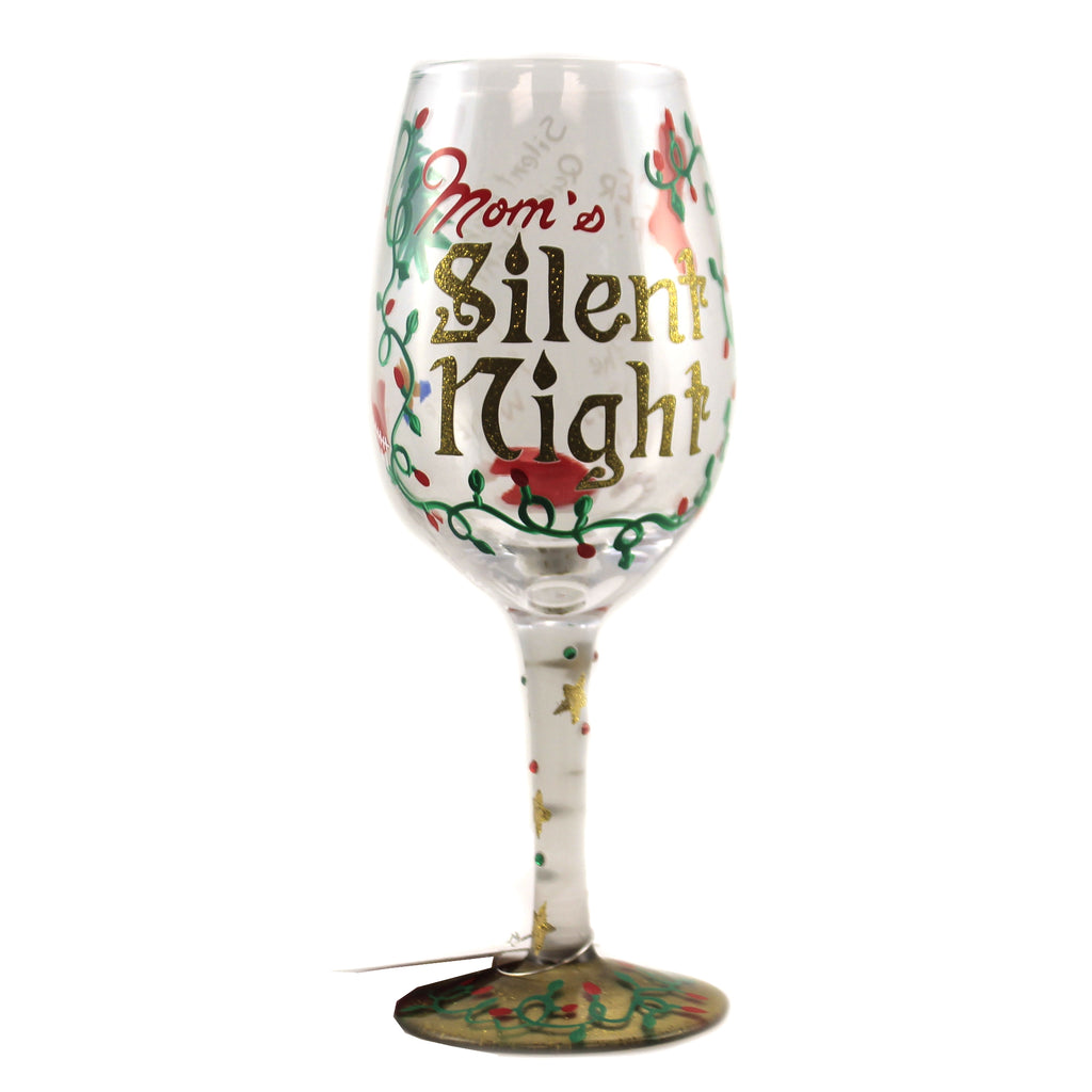 Mom's Silent Night 6007502 Tabletop Wine Glasses - SBKGIFTS.COM - SBK Gifts Christmas Shop Cincinnati - Story Book Kids