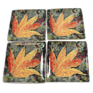 Colors Of Fall Leaf Plate Rtf19141 Tabletop Plates And Platters - SBKGIFTS.COM - SBK Gifts Christmas Shop Cincinnati - Story Book Kids