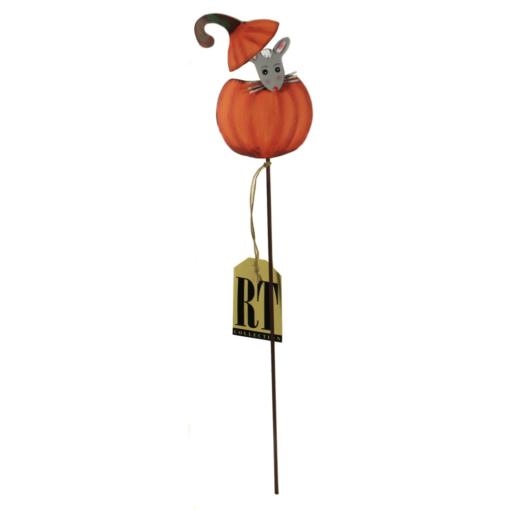 Peeping Mouse Pumpkin F20034 Halloween Decorative Stakes And Pokes And Plant Sticks - SBKGIFTS.COM - SBK Gifts Christmas Shop Cincinnati - Story Book Kids