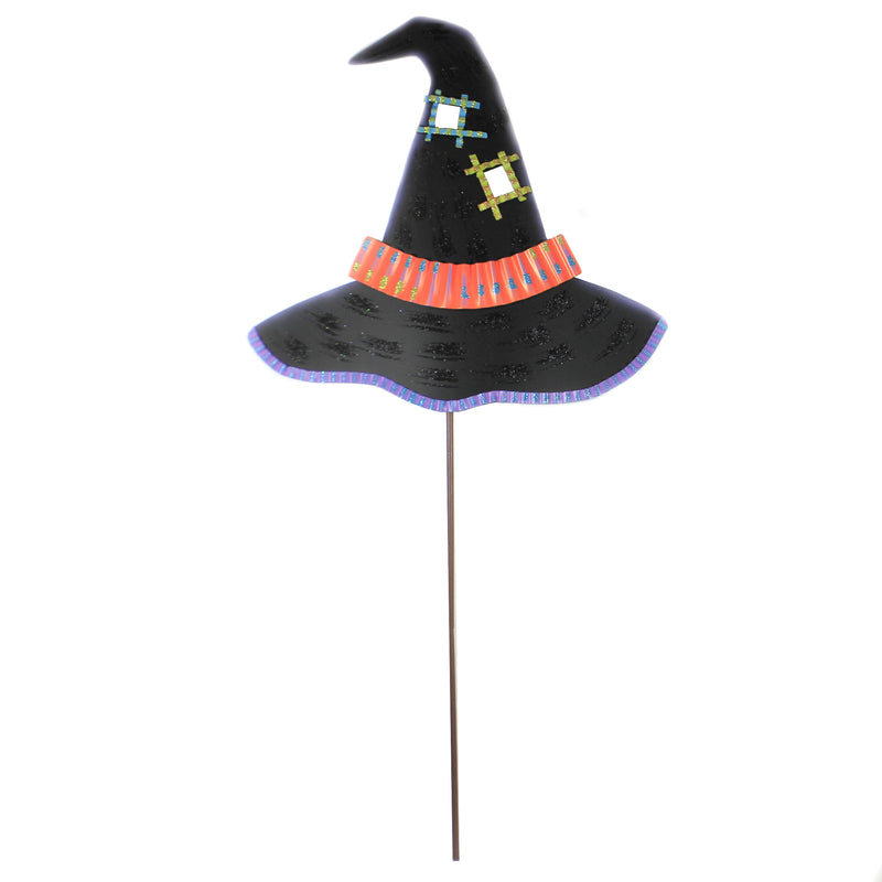 Witch Way Hat F17009 Halloween Decorative Stakes And Pokes And Plant Sticks - SBKGIFTS.COM - SBK Gifts Christmas Shop Cincinnati - Story Book Kids