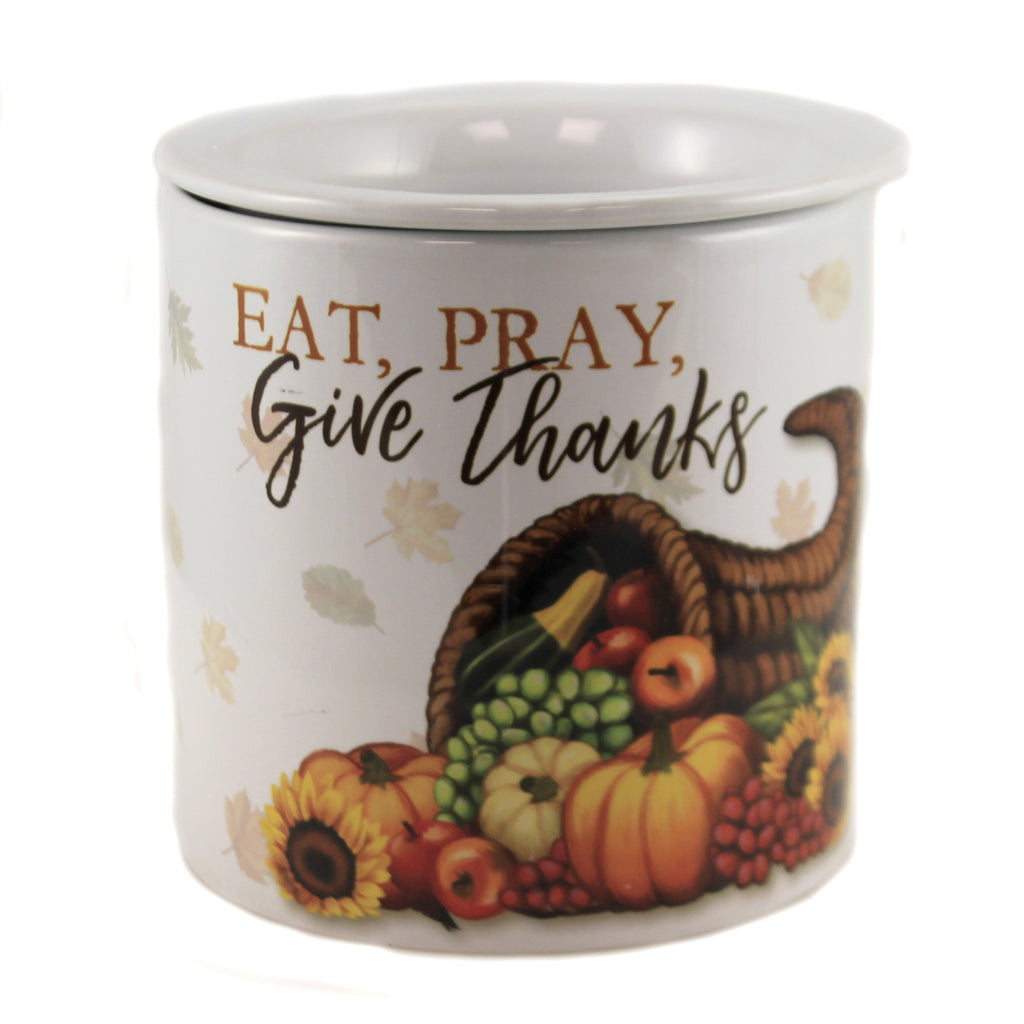Eat,Pray, Give Thanks 66786 Tabletop Serving Bowls - SBKGIFTS.COM - SBK Gifts Christmas Shop Cincinnati - Story Book Kids