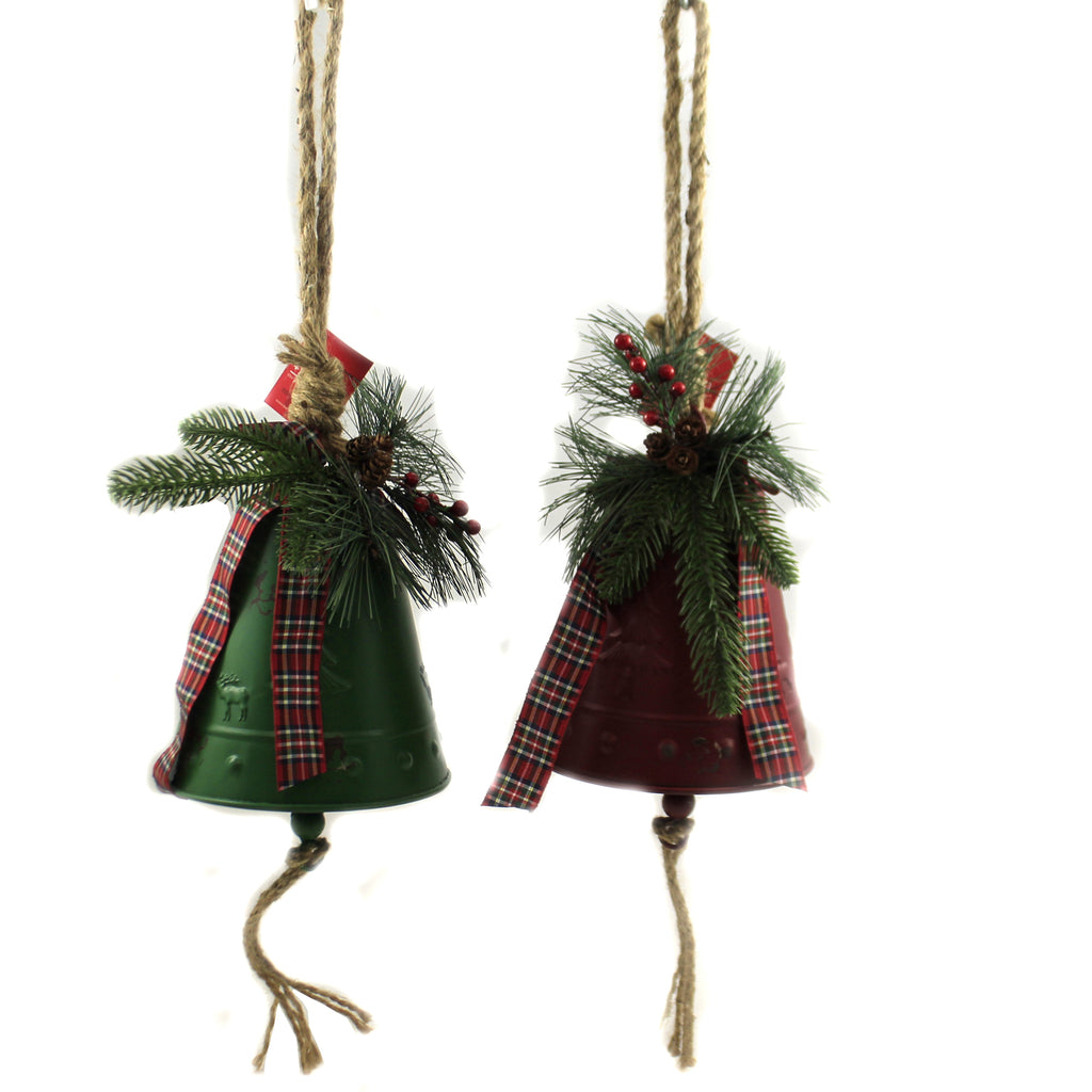 Metal Bell Ornaments 9739684 Christmas Wall Decor And Hanging Decor - SBKGIFTS.COM - SBK Gifts Christmas Shop Cincinnati - Story Book Kids