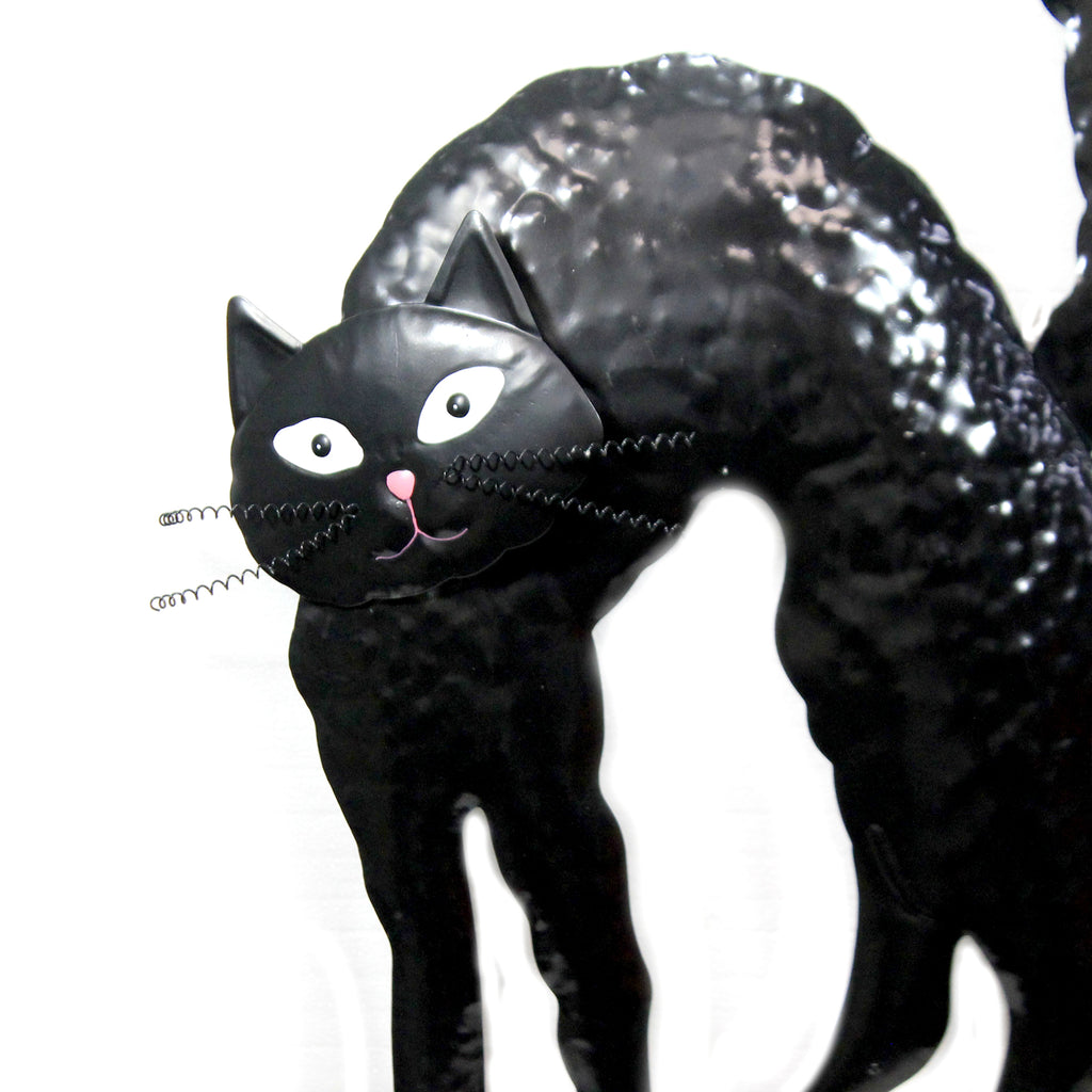 Black Halloween Cat Stake 30633791 Home & Garden Decorative Stakes And Pokes And Plant Sticks - SBKGIFTS.COM - SBK Gifts Christmas Shop Cincinnati - Story Book Kids