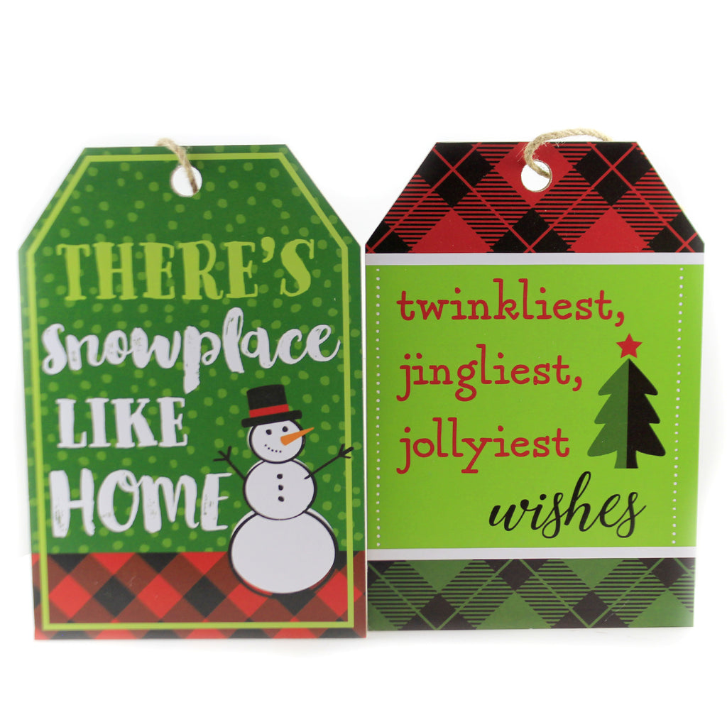 Hanging Tag Ornament Sign Ex20565 Home Christmas Signs And Plaques - SBKGIFTS.COM - SBK Gifts Christmas Shop Cincinnati - Story Book Kids
