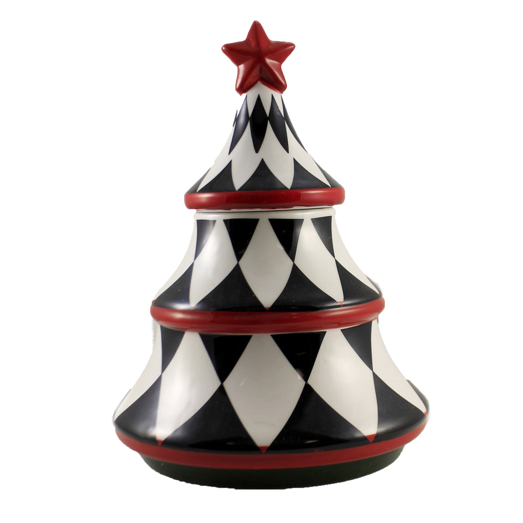 Harlequin Tree Candy Dish 53103A3 Tabletop Tabletop - SBKGIFTS.COM - SBK Gifts Christmas Shop Cincinnati - Story Book Kids