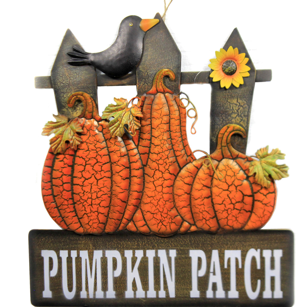 Pumpkin Patch Pumpkins Stake 31833641 Home & Garden Decorative Stakes And Pokes And Plant Sticks - SBKGIFTS.COM - SBK Gifts Christmas Shop Cincinnati - Story Book Kids