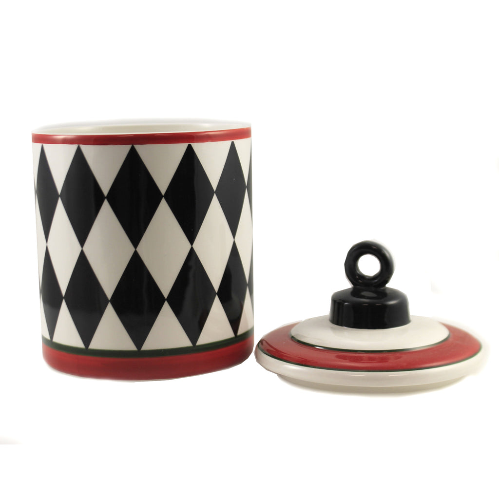 Harlequin Oblong Lidded Dish 53103A2 Tabletop Tabletop - SBKGIFTS.COM - SBK Gifts Christmas Shop Cincinnati - Story Book Kids