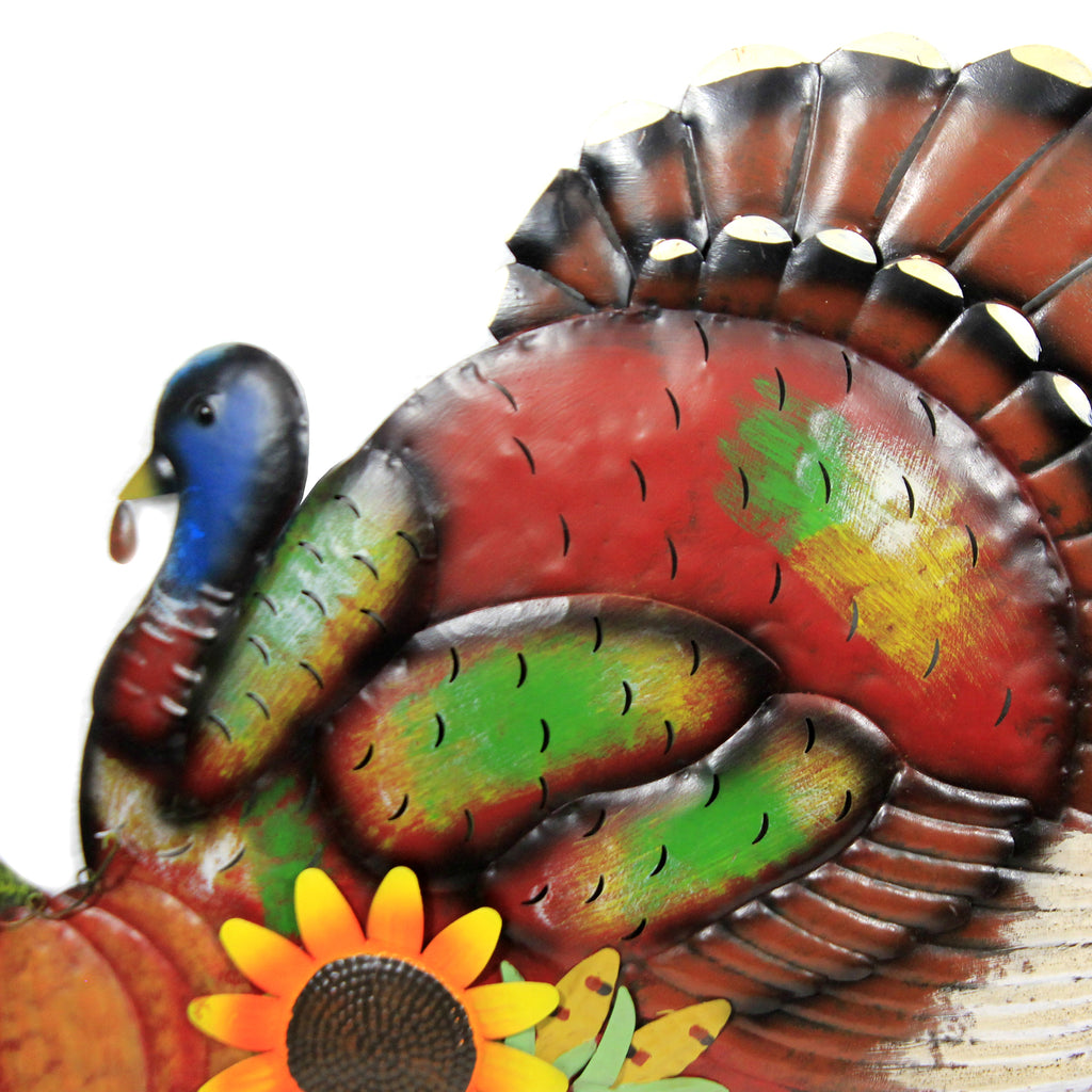 Turkey Stake 30633794 Home & Garden Decorative Stakes And Pokes And Plant Sticks - SBKGIFTS.COM - SBK Gifts Christmas Shop Cincinnati - Story Book Kids