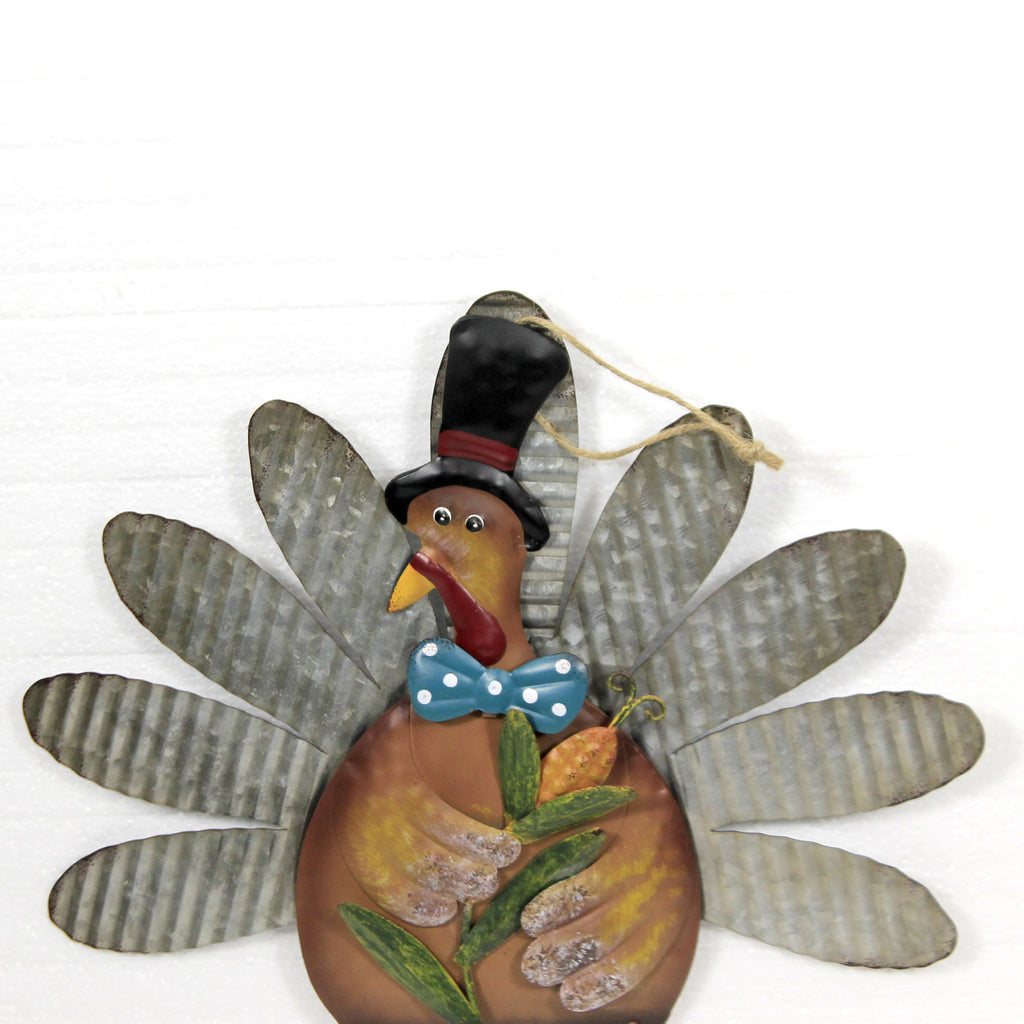 Ridged Feathers Turkey Stake 31833648 Home & Garden Decorative Stakes And Pokes And Plant Sticks - SBKGIFTS.COM - SBK Gifts Christmas Shop Cincinnati - Story Book Kids
