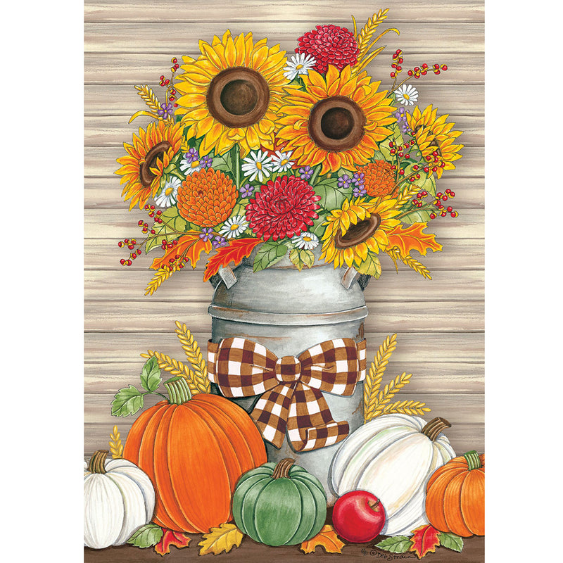 Sunflower Milk Can Flag 4396Fm Home & Garden Other Garden Decor - SBKGIFTS.COM - SBK Gifts Christmas Shop Cincinnati - Story Book Kids