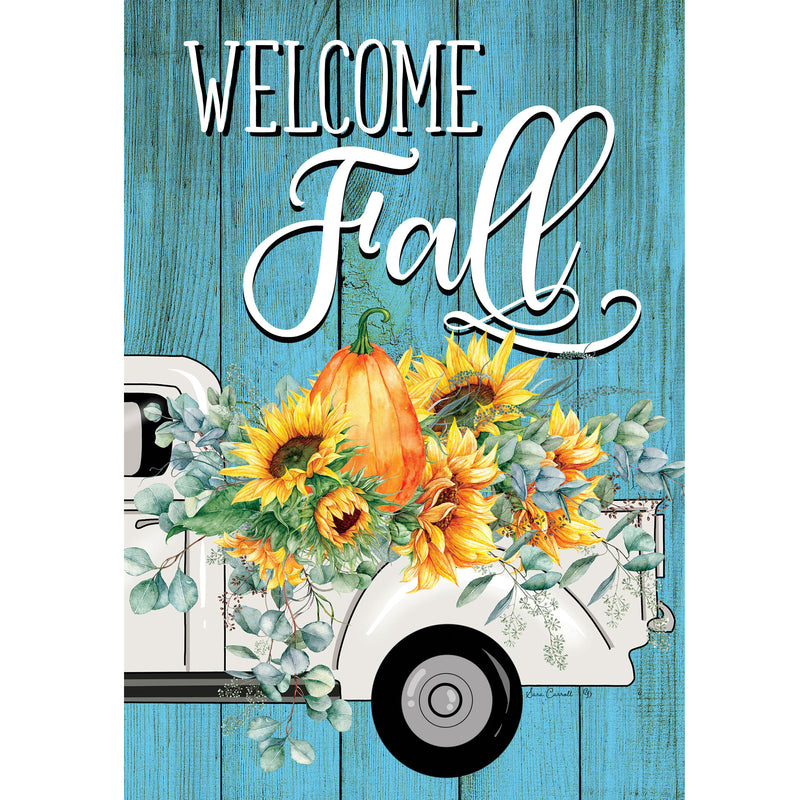 Floral Truck Flag 4387Fm Home & Garden Other Garden Decor - SBKGIFTS.COM - SBK Gifts Christmas Shop Cincinnati - Story Book Kids