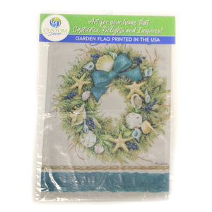 Coastal Wreath Flag 2563Fm Home & Garden Other Garden Decor - SBKGIFTS.COM - SBK Gifts Christmas Shop Cincinnati - Story Book Kids