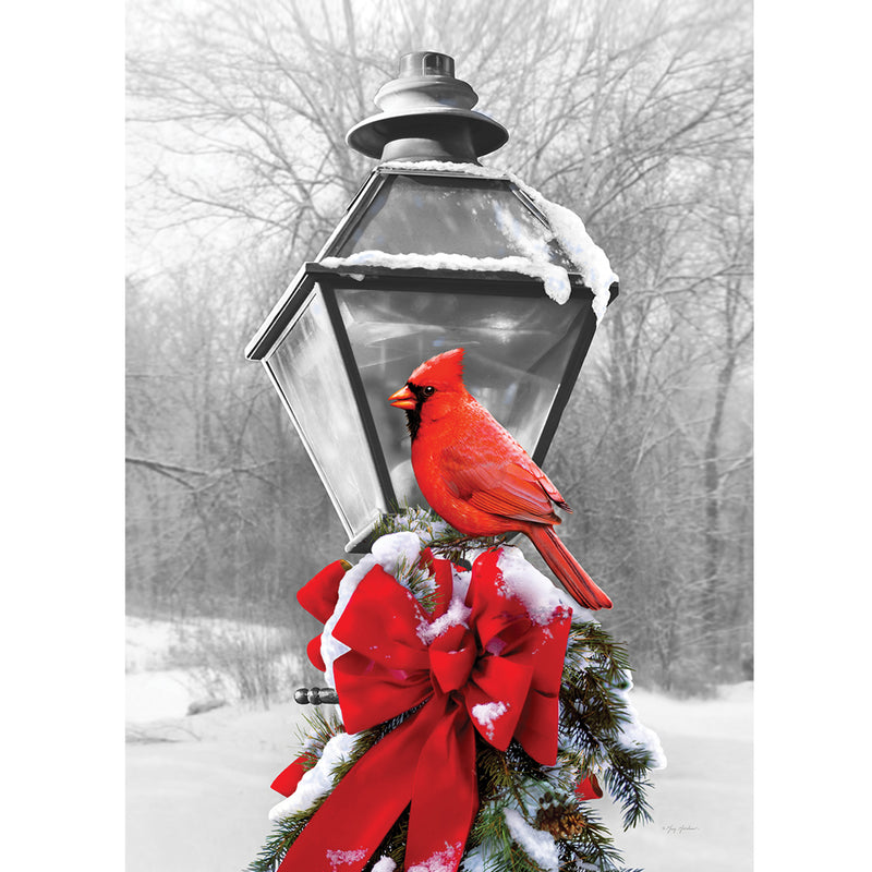 Cardinal Lamp Post Flag 3875Fm Home & Garden Other Garden Decor - SBKGIFTS.COM - SBK Gifts Christmas Shop Cincinnati - Story Book Kids