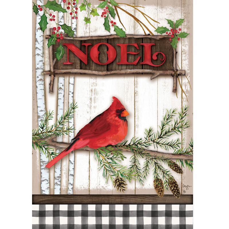 Cardinal Noel Flag 4421Fm Home & Garden Other Garden Decor - SBKGIFTS.COM - SBK Gifts Christmas Shop Cincinnati - Story Book Kids