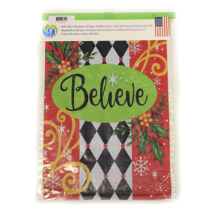 Believe Flag 4434Fm Home & Garden Other Garden Decor - SBKGIFTS.COM - SBK Gifts Christmas Shop Cincinnati - Story Book Kids