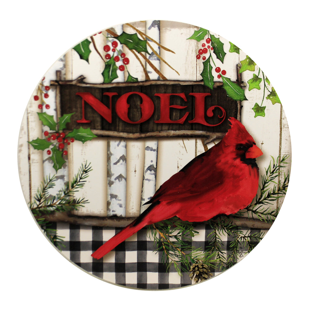 Cardinal Noel Stepping Stone 4421St Home & Garden Decorative Stepping Stones - SBKGIFTS.COM - SBK Gifts Christmas Shop Cincinnati - Story Book Kids