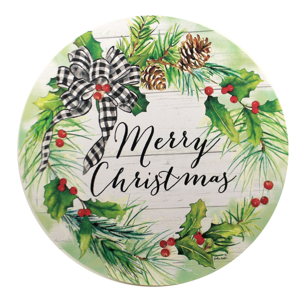 Christmas Green Stepping Stone 4425St Home & Garden Decorative Stepping Stones - SBKGIFTS.COM - SBK Gifts Christmas Shop Cincinnati - Story Book Kids