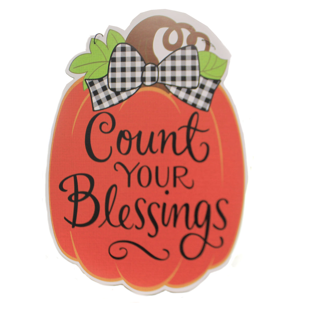 Count Your Blessings Hang Around 3018. Home & Garden Wall Decor And Hanging Decor - SBKGIFTS.COM - SBK Gifts Christmas Shop Cincinnati - Story Book Kids