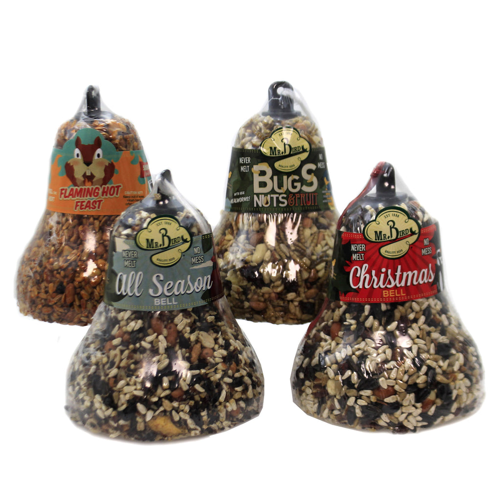 Seed Bell Varitey Set / 4 618*212*412*621* Home & Garden Bird Supplies - SBKGIFTS.COM - SBK Gifts Christmas Shop Cincinnati - Story Book Kids