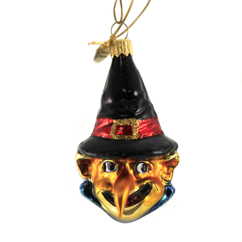 Hook Nosed Witch 14892 Morawski Glass Ornaments - SBKGIFTS.COM - SBK Gifts Christmas Shop Cincinnati - Story Book Kids