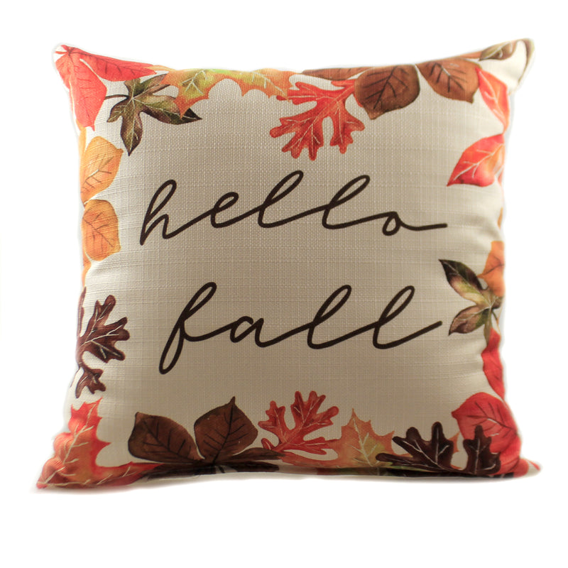Hello Fall Pillow Fal0024 Fall Decorative Pillows - SBKGIFTS.COM - SBK Gifts Christmas Shop Cincinnati - Story Book Kids