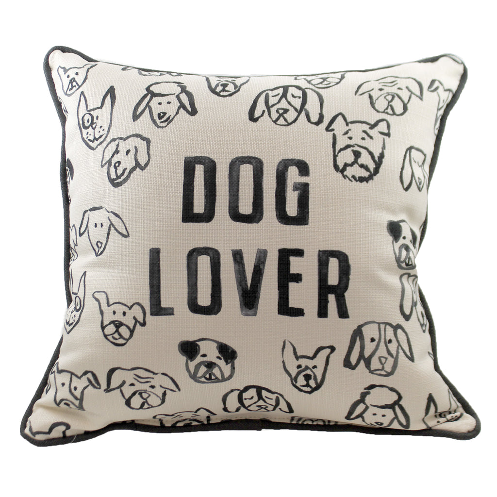 Dog Lover Pillow Dog0021 Home Decor Decorative Pillows - SBKGIFTS.COM - SBK Gifts Christmas Shop Cincinnati - Story Book Kids