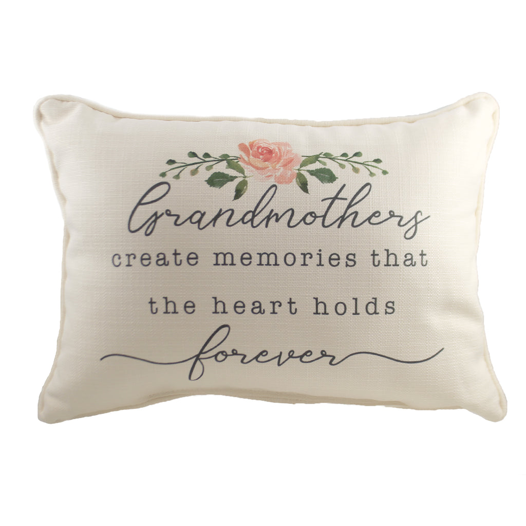 Grandmothers Forever Pillow Txt0570 Home Decor Decorative Pillows - SBKGIFTS.COM - SBK Gifts Christmas Shop Cincinnati - Story Book Kids