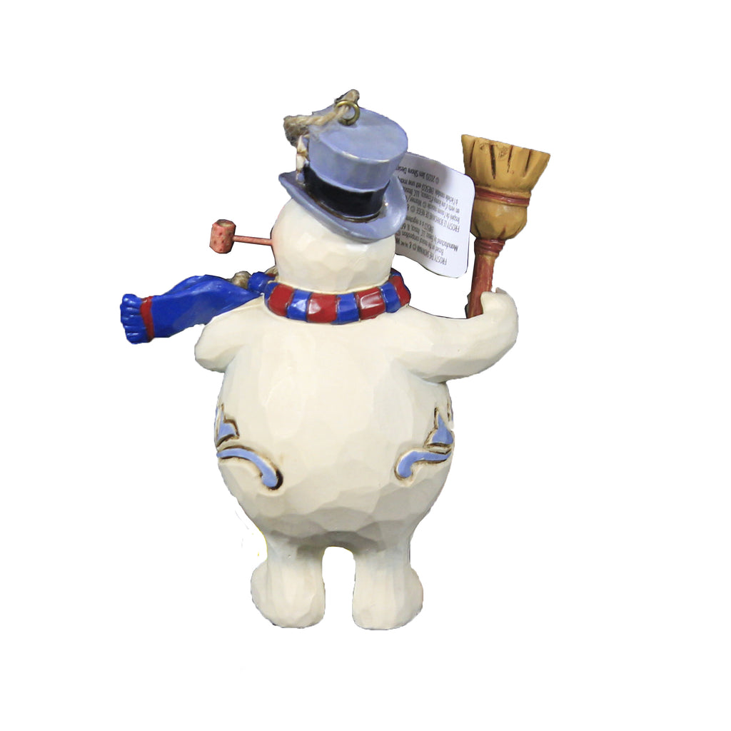 Jim Shore Frosty With Broom 2020 Ornament Frosty The Snowman Dated - 6007345