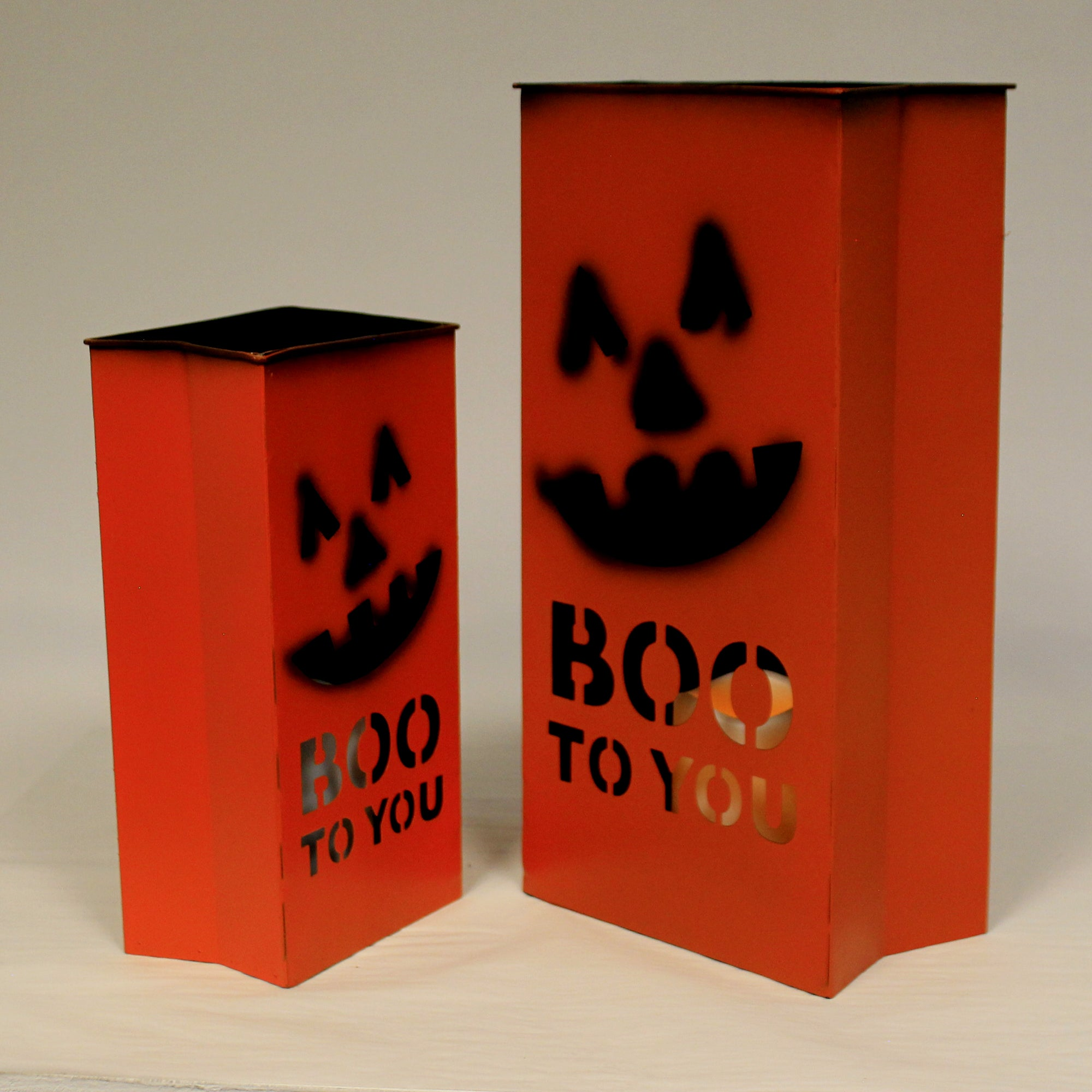 Halloween Lighted Boo Buckets 50533915 Outdoor Statues Sbk Gifts Sbkgifts Com