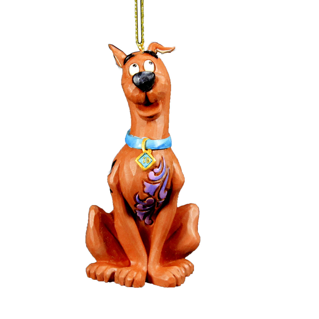Jim Shore Scooby Ornament Hanna-Barbera Christmas - 6007257
