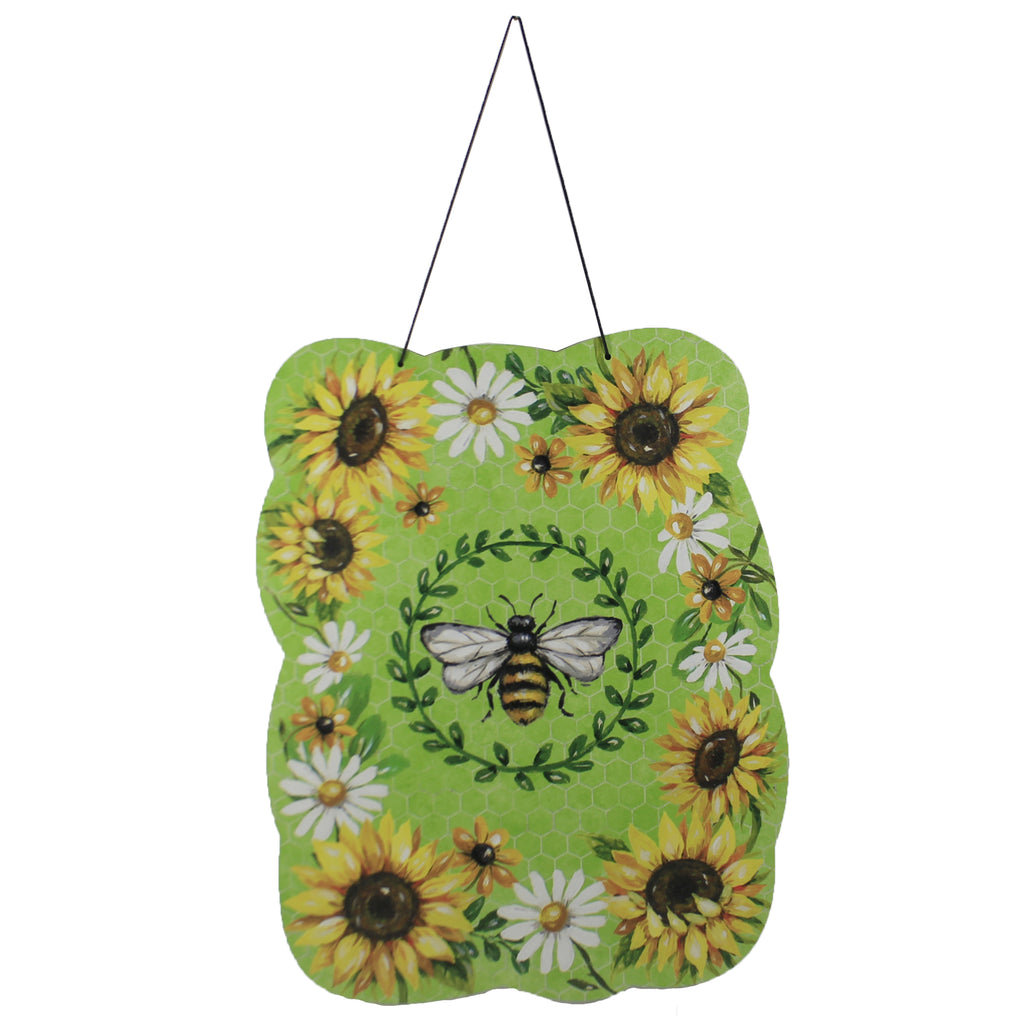 Bumblebee Sunflower Hang Around 3485 Home & Garden Wall Decor And Hanging Decor - SBKGIFTS.COM - SBK Gifts Christmas Shop Cincinnati - Story Book Kids
