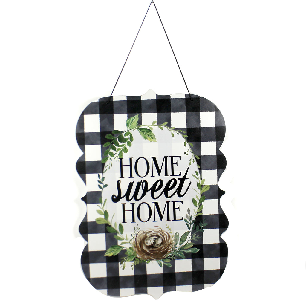 Gingham Home Hand Around 3483 Home & Garden Wall Decor And Hanging Decor - SBKGIFTS.COM - SBK Gifts Christmas Shop Cincinnati - Story Book Kids