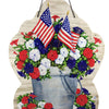 Patriotic Pail Hang Around 3489 Home & Garden Wall Decor And Hanging Decor - SBKGIFTS.COM - SBK Gifts Christmas Shop Cincinnati - Story Book Kids