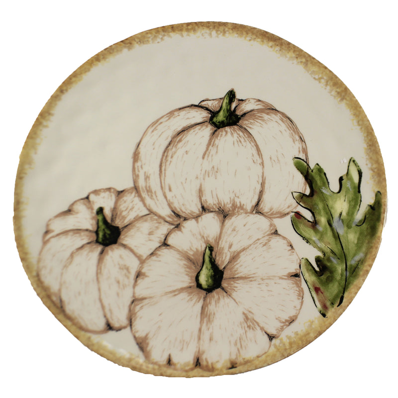 Fall Harvest Round Platter Er66928 Tabletop Plates And Platters - SBKGIFTS.COM - SBK Gifts Christmas Shop Cincinnati - Story Book Kids
