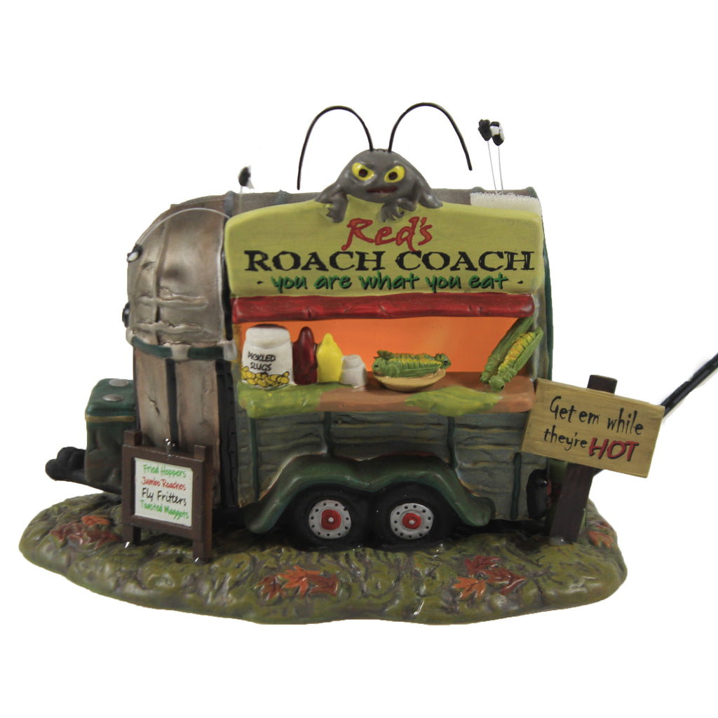 Red's Roach Coach 6007273 Department 56 Accessory Department 56 Halloween Village Accessories - SBKGIFTS.COM - SBK Gifts Christmas Shop Cincinnati - Story Book Kids