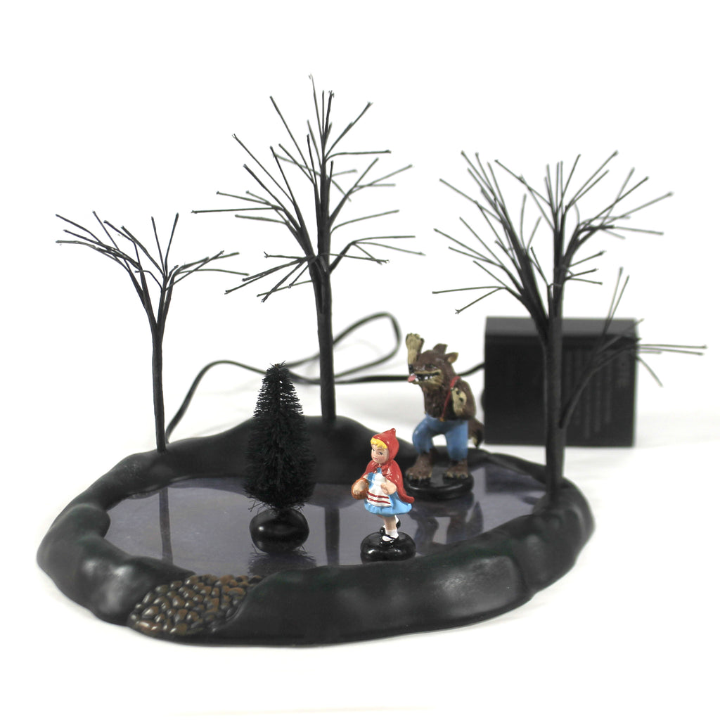 Animated Little Red Riding Hood 6005553 Department 56 Accessory Department 56 Halloween Village Accessories - SBKGIFTS.COM - SBK Gifts Christmas Shop Cincinnati - Story Book Kids