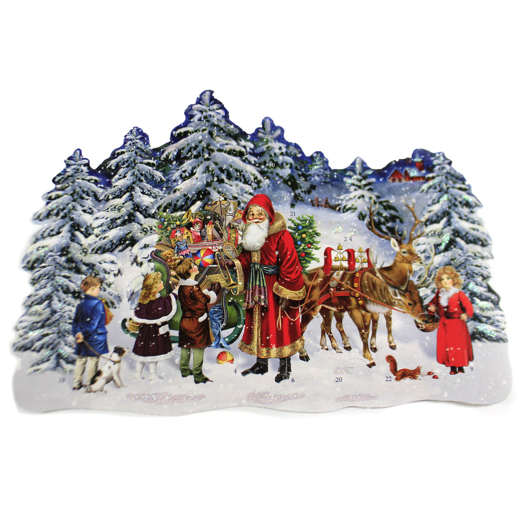 Santas Forest Sleigh 71980 Christmas Advent Calendars - SBKGIFTS.COM - SBK Gifts Christmas Shop Cincinnati - Story Book Kids