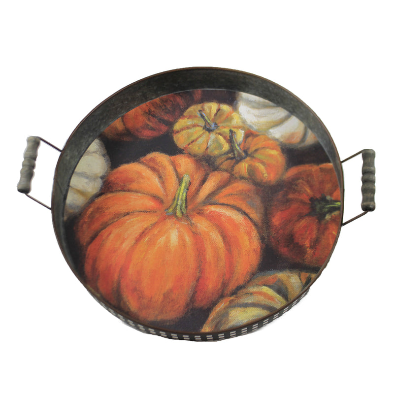 Pumpkin Tray 106869 Tabletop - SBKGIFTS.COM - SBK Gifts Christmas Shop Cincinnati - Story Book Kids