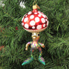 Mushroom Man 09446 Morawski Glass Ornaments - SBKGIFTS.COM - SBK Gifts Christmas Shop Cincinnati - Story Book Kids