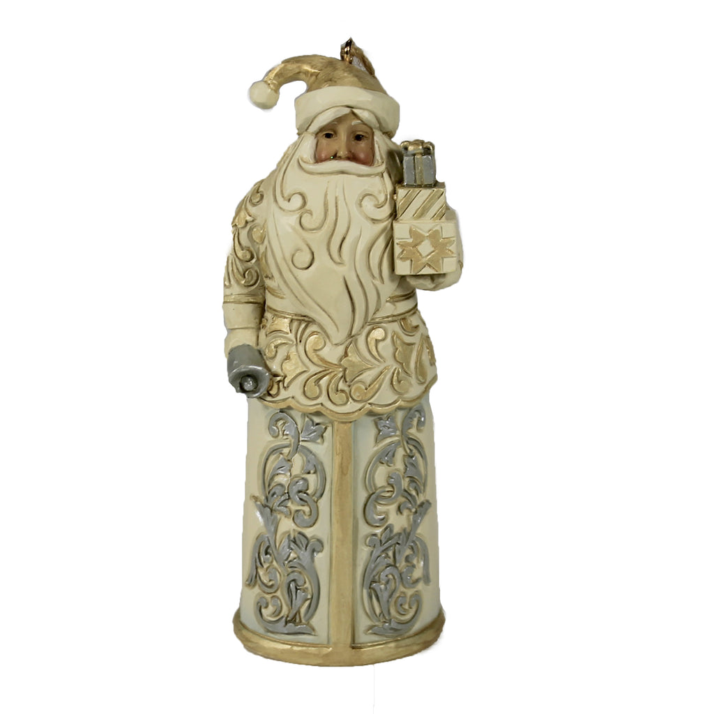 Holiday Lustre Santa Ornament 6006618 Jim Shore Figurines - SBKGIFTS.COM - SBK Gifts Christmas Shop Cincinnati - Story Book Kids