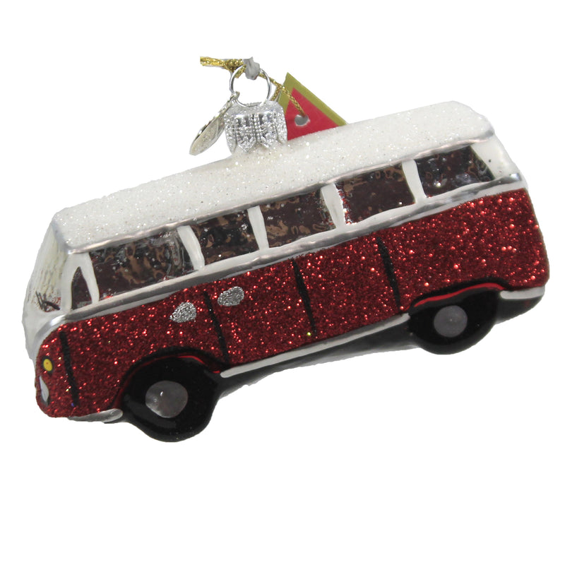 Vintage Volkswagon Camper 19252 Morawski Glass Ornaments - SBKGIFTS.COM - SBK Gifts Christmas Shop Cincinnati - Story Book Kids