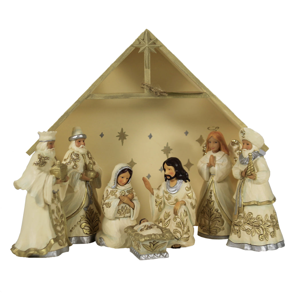 Blessed Birth In Bethlehem 6006651 Jim Shore Figurines - SBKGIFTS.COM - SBK Gifts Christmas Shop Cincinnati - Story Book Kids