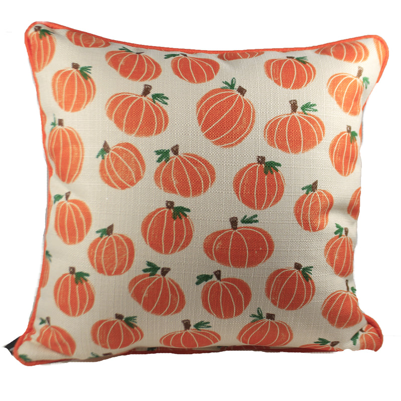 Hand-Painted Pumpkin Pattern Fal0029 Fall Decorative Pillows - SBKGIFTS.COM - SBK Gifts Christmas Shop Cincinnati - Story Book Kids