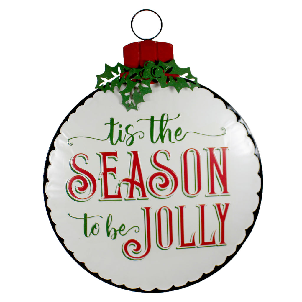 "29"" Tis The Season Wall Decor 32844265 Christmas Other Garden Decor - SBKGIFTS.COM - SBK Gifts Christmas Shop Cincinnati - Story Book Kids"