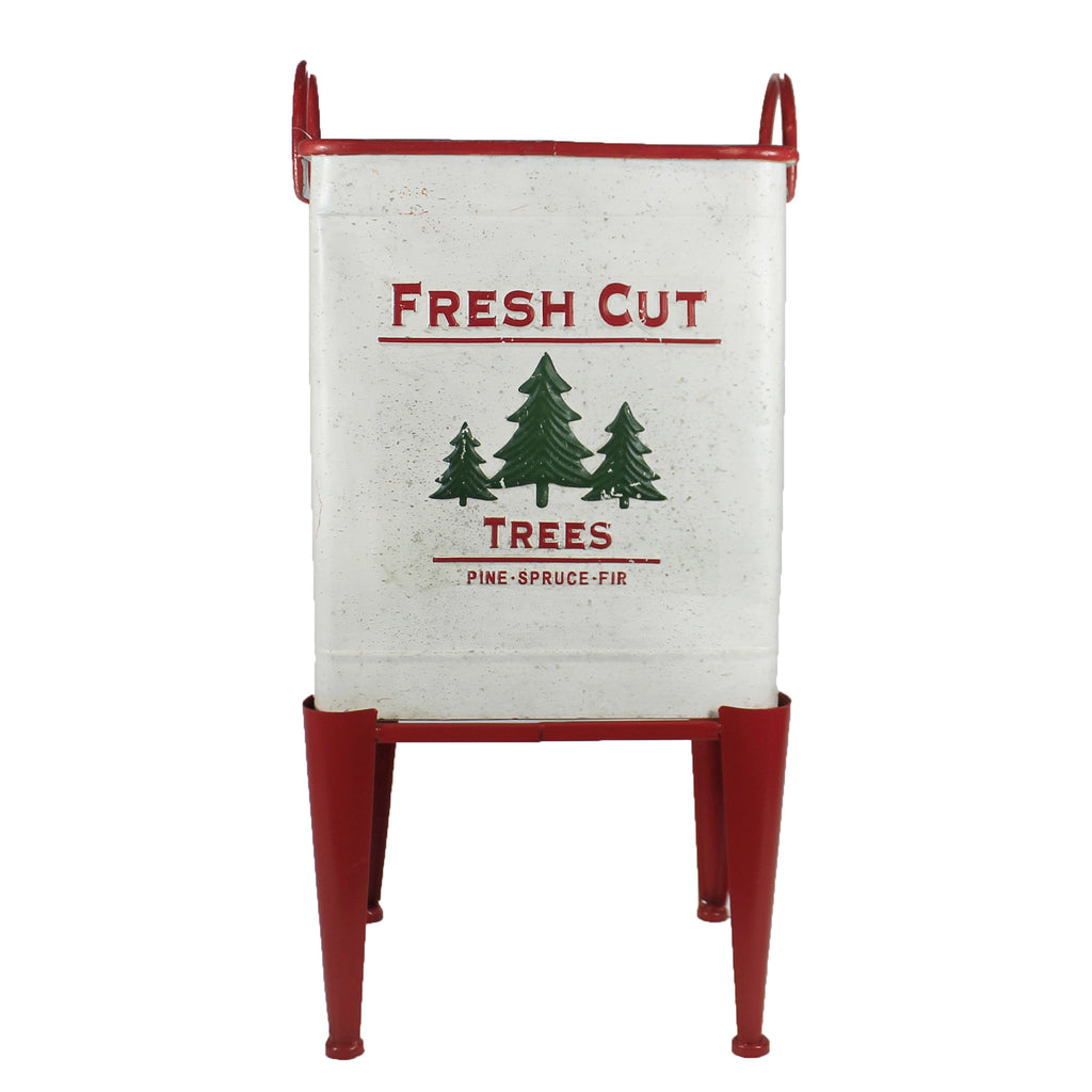 Large Farm Fresh Tree Bucket 32844291L Christmas Pots And Planters - SBKGIFTS.COM - SBK Gifts Christmas Shop Cincinnati - Story Book Kids