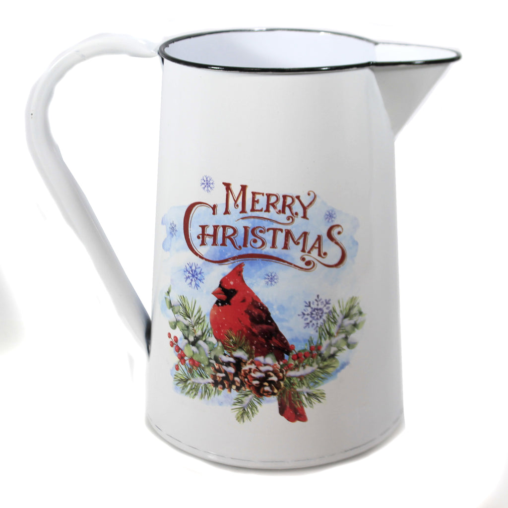 Cardinal Pitcher 50544613 Christmas Pitchers - SBKGIFTS.COM - SBK Gifts Christmas Shop Cincinnati - Story Book Kids
