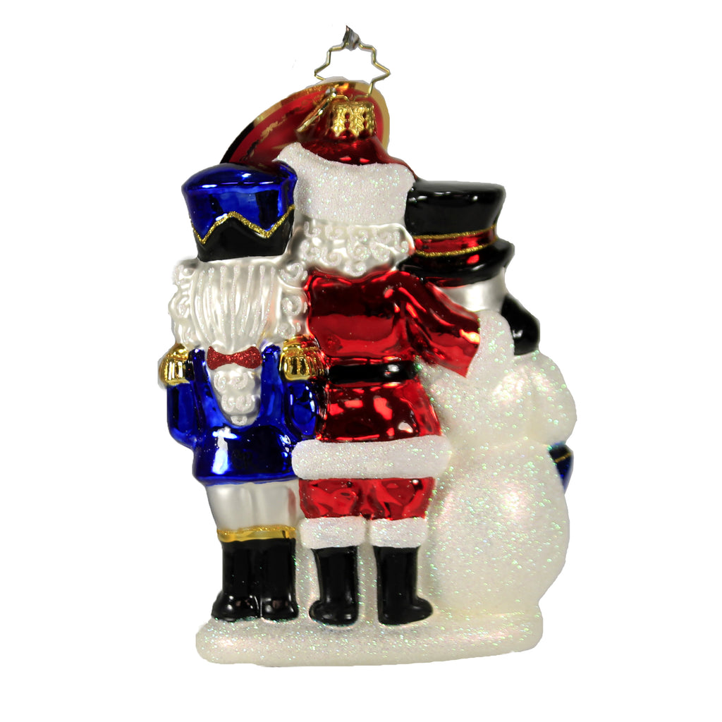A Forever - Treasured Trio 2020 1020437 Christopher Radko Glass Ornaments - SBKGIFTS.COM - SBK Gifts Christmas Shop Cincinnati - Story Book Kids
