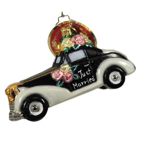 Love & Carriage 1020524 Christopher Radko Glass Ornaments - SBKGIFTS.COM - SBK Gifts Christmas Shop Cincinnati - Story Book Kids